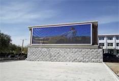 桌资县户外P8彩屏50平米及施工